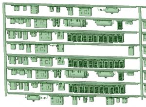 SB20-80 8連HB2000【武蔵模型工房 Nゲージ 鉄道模型】-2