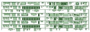 SB20-01 2連(AK3)_6連(HB2000)【武蔵模型工房 Nゲージ 鉄道模型】
