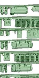 SB20-01 2連(AK3)_6連(HB2000)【武蔵模型工房 Nゲージ 鉄道模型】-1