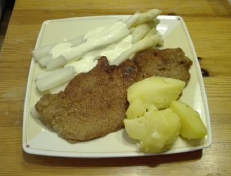 Spagel Schnitzel