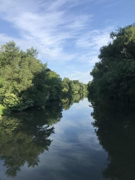 Nidda river