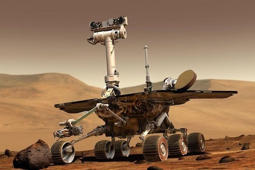 NASAの火星探査車オポチュニティ、砂嵐により発電が困難に