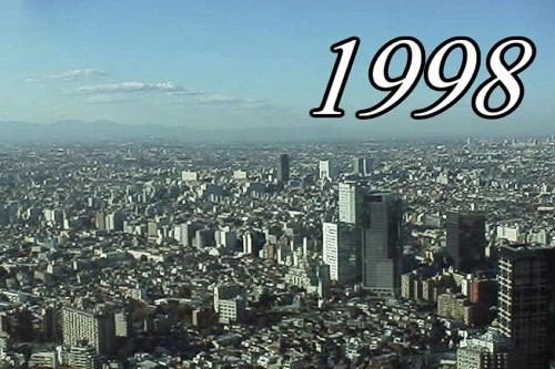 おまえら1998年って何してた?