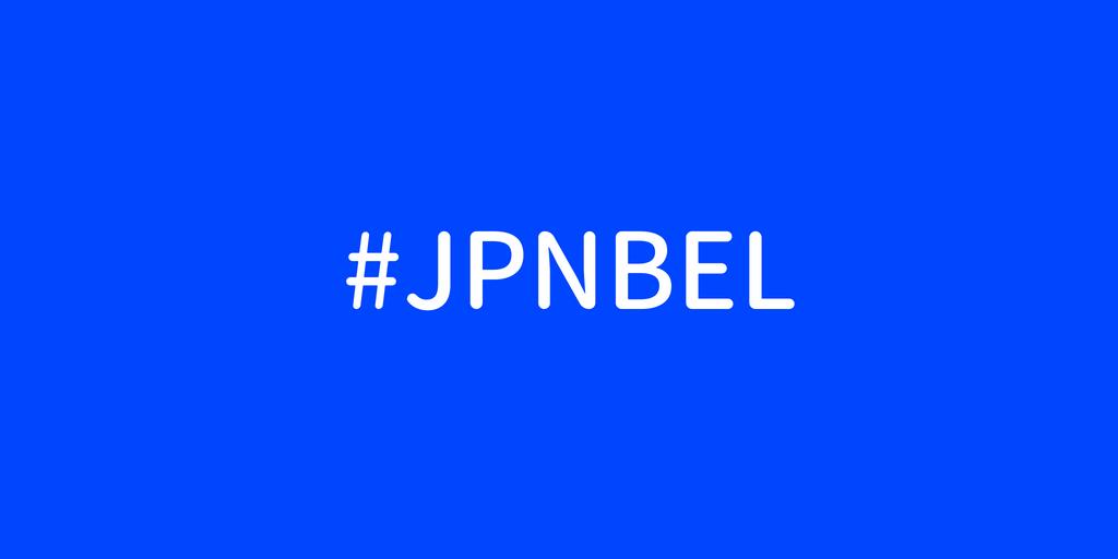 #JPNBEL
