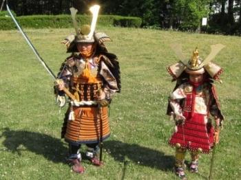 埼玉県立嵐山史跡の博物館 よろいを着てみよう