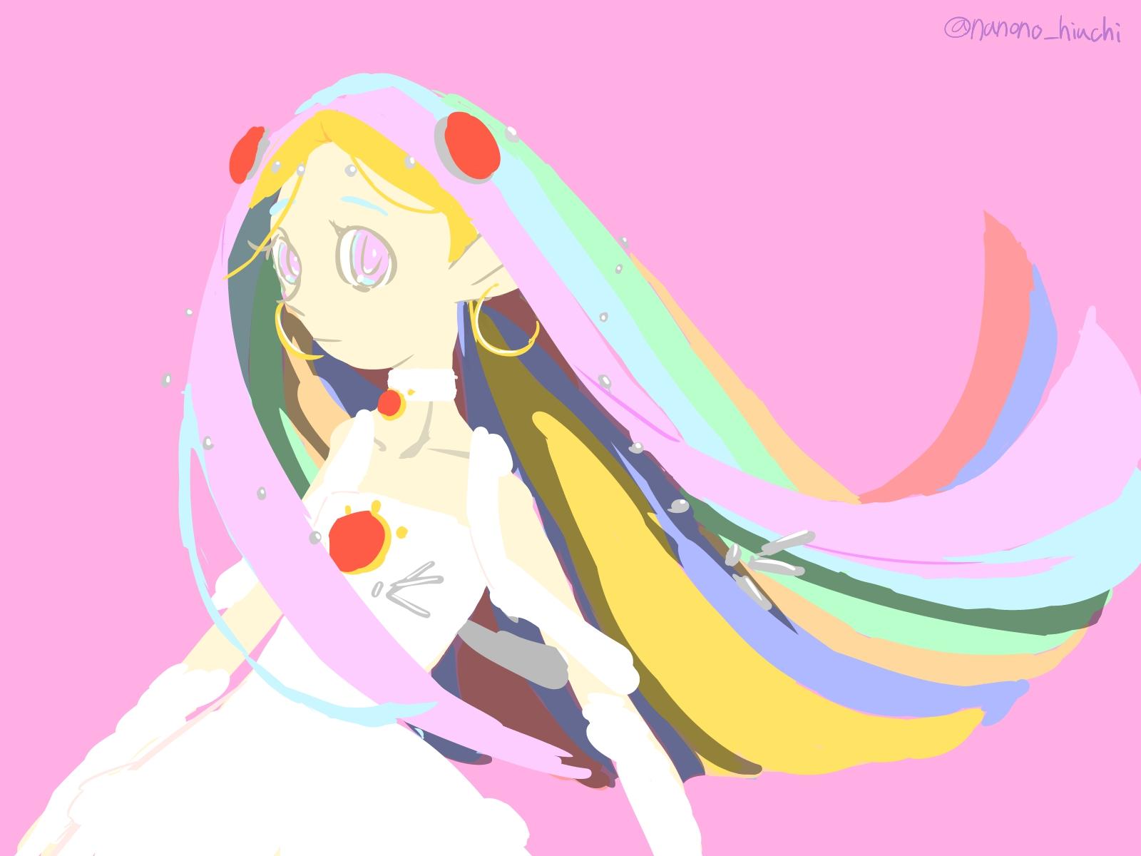 虹の巫女さん