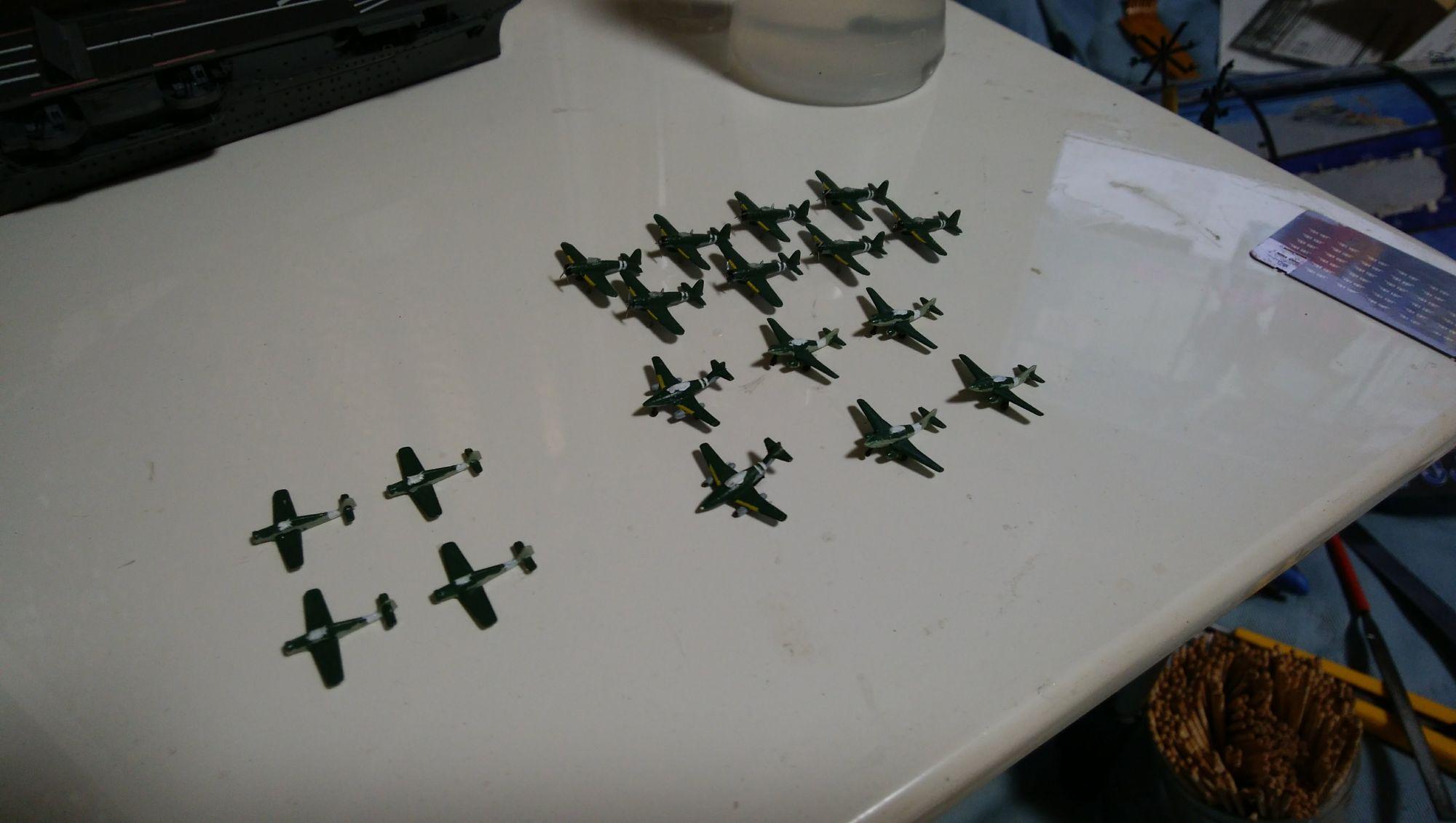 瑞鶴艦載機 烈風/Me262A/Fw190D