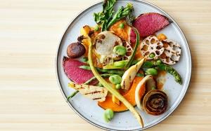 15種野菜のサラダw人参酵素ディップソース
