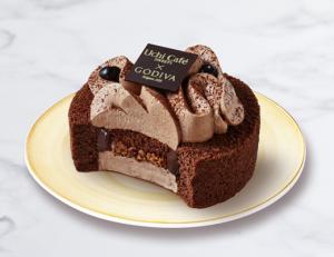 Uchi ×GODIVA ショコラロールケーキ