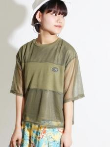 メッシュワンポイントTシャツ2