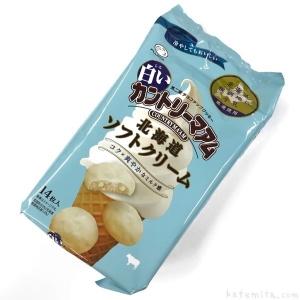 白いカントリーマアム北海道ソフトクリーム
