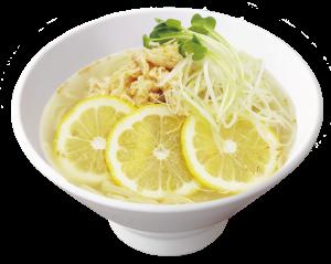 塩鶏レモンスープ涼麺
