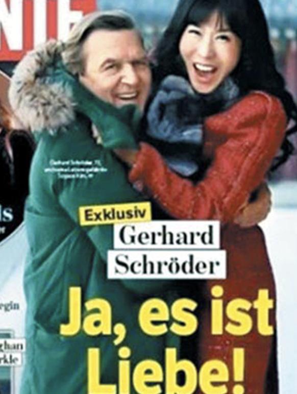 ドイツ前首相のハニトラ感全開な結婚