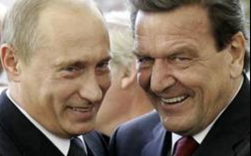 プーチンとシュレーダー