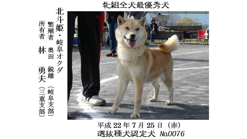 第25回岐阜CH展1-02-最優秀犬牝