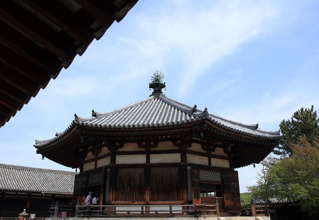 ブログ 法隆寺 東院伽藍 夢殿.jpg