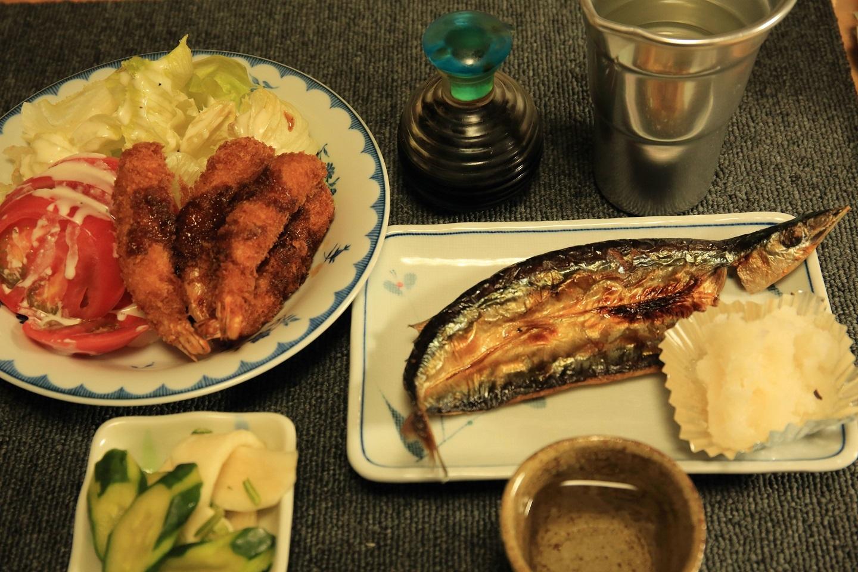 ブログ 渋い夕ご飯ですね.jpg