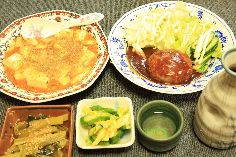 ブログ 冷食利用の夕食.jpg
