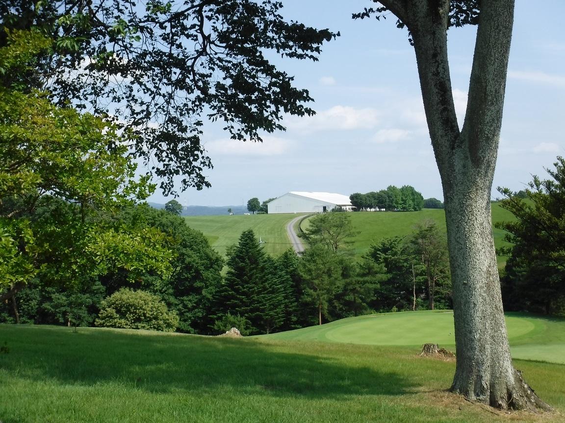 ゴルフ場からの眺め 雄大な牧場.jpg
