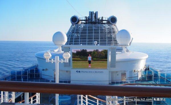 クルーズ旅行 終日航海日の過ごし方 ラジオ体操