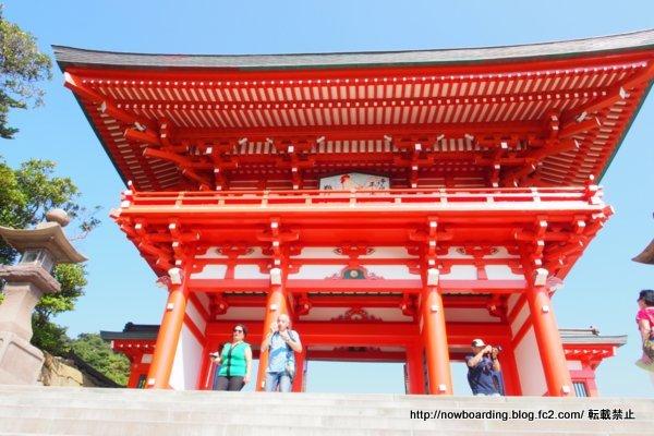 鵜戸神宮観光 楼門