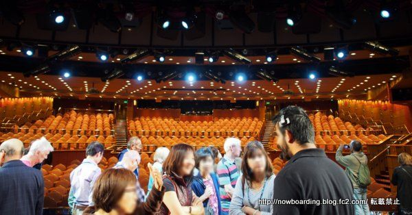 舞台裏ツアー クルーズ旅行のイベント