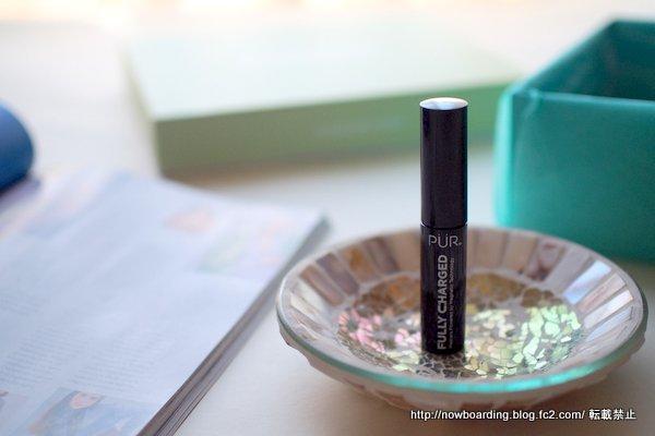 PUR フルチャージ磁気マスカラ 4月のルックファンタスティックビューティボックス 感想ブログ lookfantastic beauty box