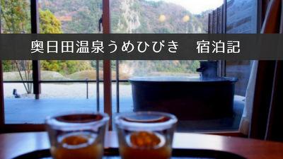 奥日田温泉うめひびき宿泊ブログ