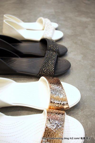 Crocs Lina Embellished D'Orsay Flat クロックス リナ エンベリッシュド ドルセー