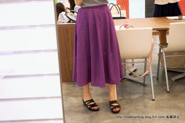 Crocs Leigh-Ann Leather Mini Wedge クロックス レイ アン ミニ ウェッジ レザー着用画像