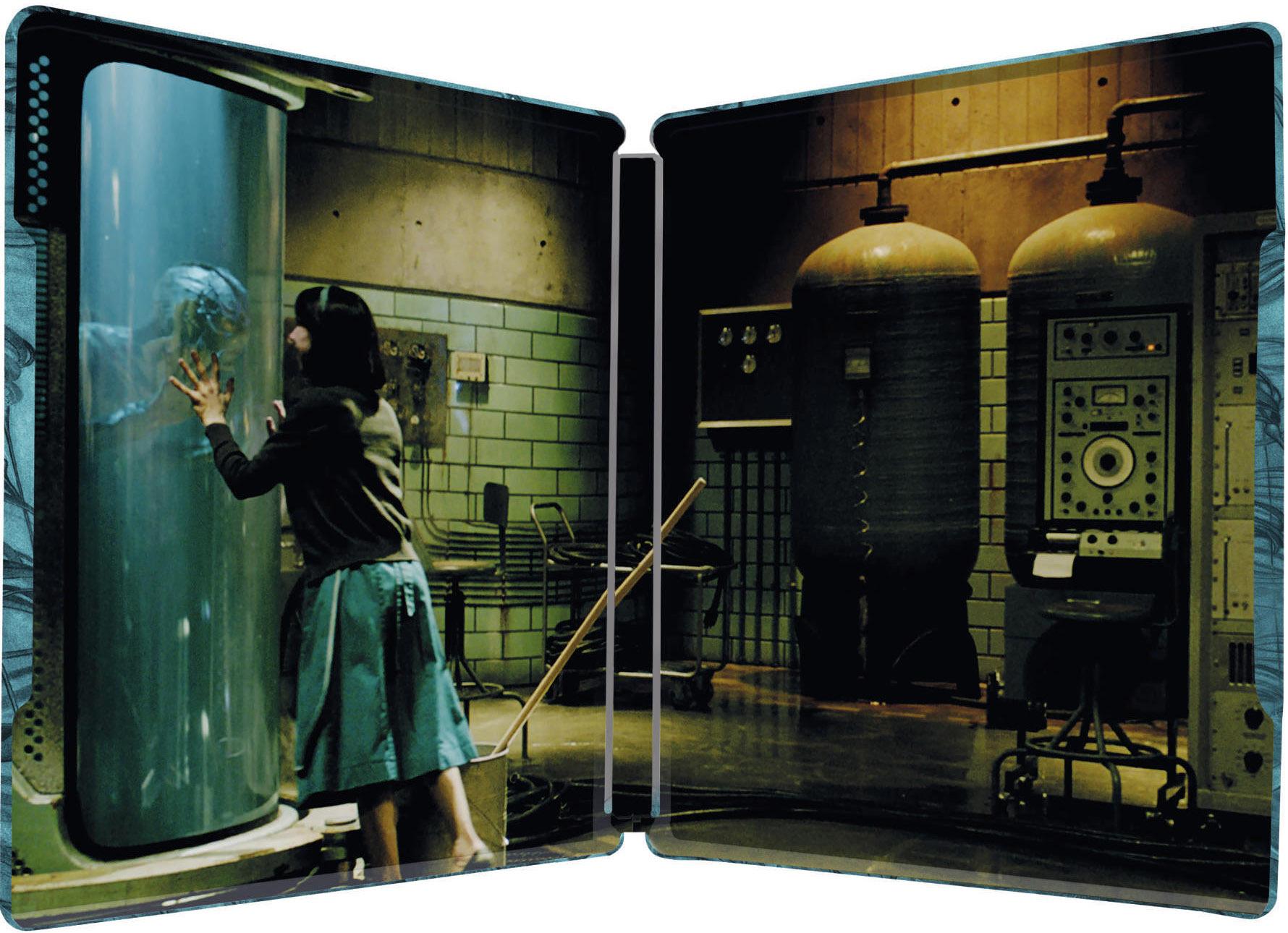 シェイプ・オブ・ウォーター スチールブック The Shape Of Water steelbook