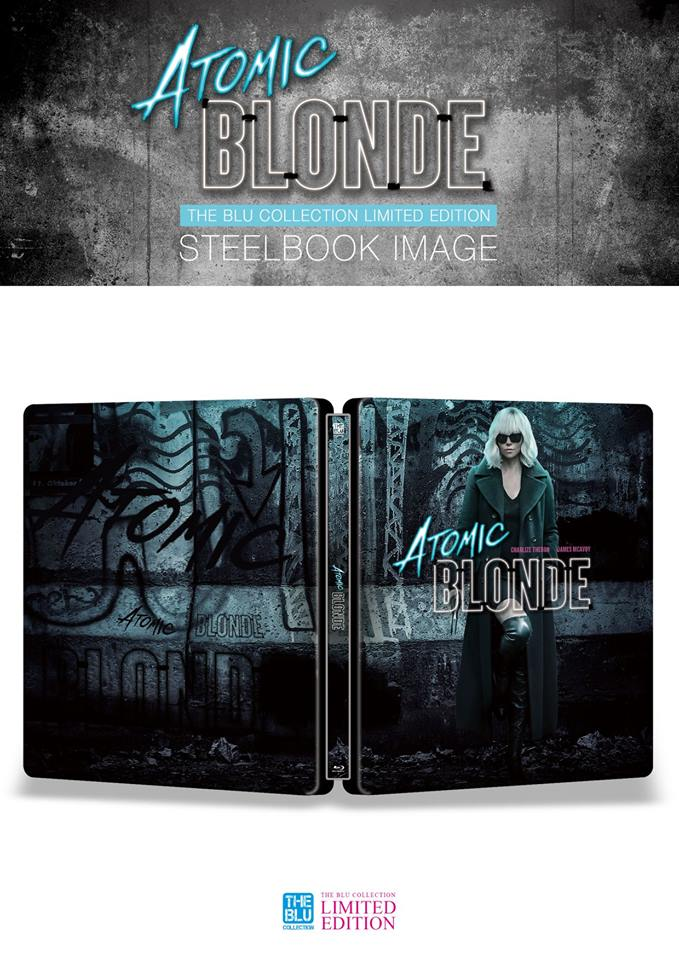 アトミック・ブロンド スチールブック 4K Ultra HD The Atomic Blonde KimchiDVD steelbook