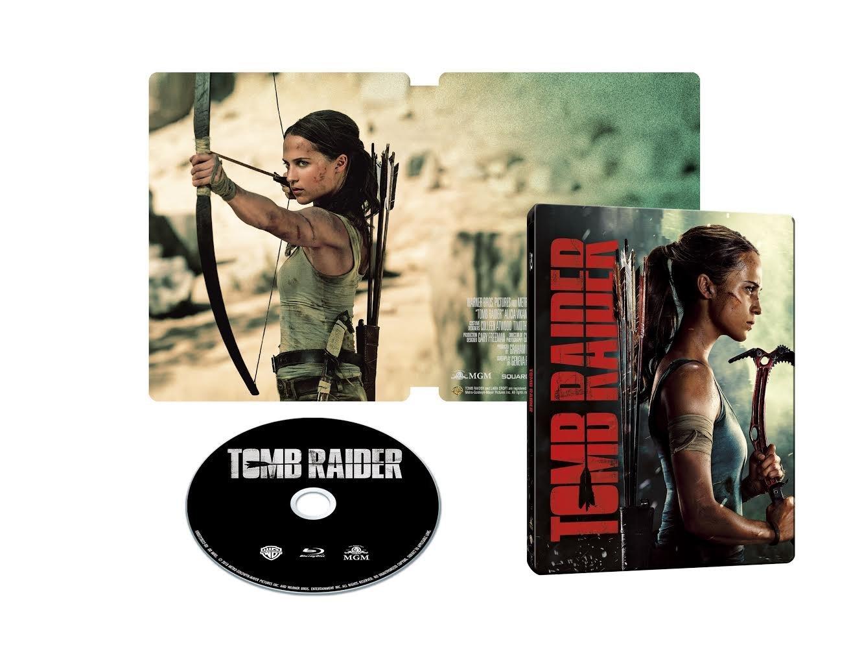 トゥームレイダー ファースト・ミッション ゲオ限定 スチールブック Tome Raider GEO steelbook