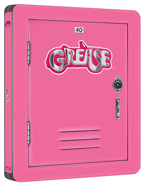 グリース(HDリマスター版)&グリース2(ブルーレイ) 製作40周年記念 スチールブック仕様 GREASE steelbook
