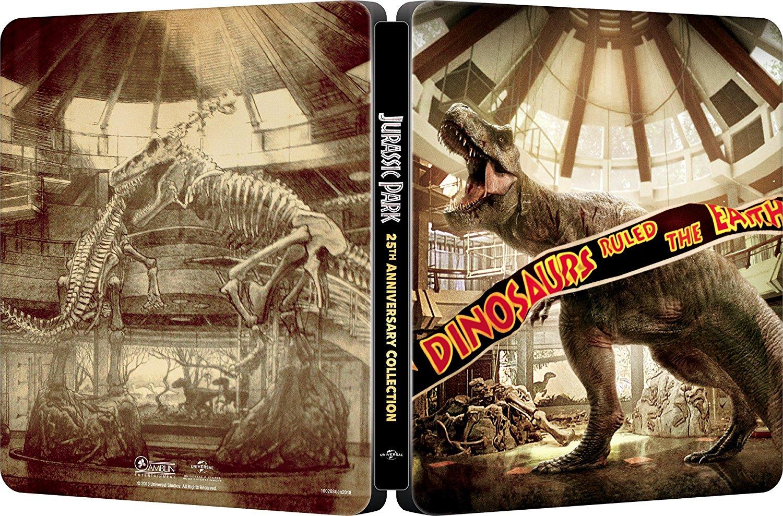 ジュラシック・パーク 4ムービー・コレクション スチールブック  Jurassic Park Collection steelbook