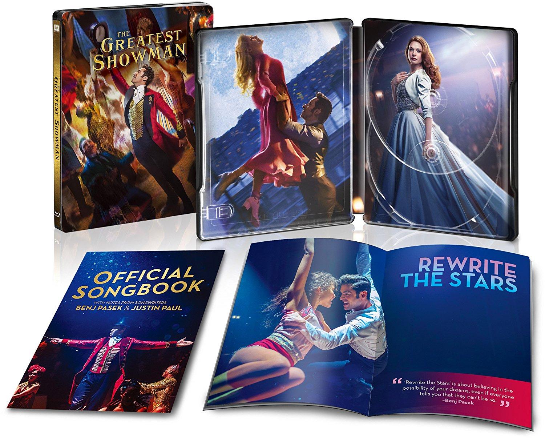 グレイテスト・ショーマン スチールブック The Greatest Showman steelbook
