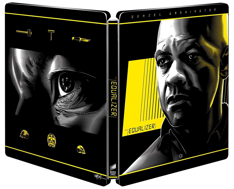 イコライザー(アンレイテッド・バージョン) 4K ULTRA HD & ブルーレイセット スチールブック The Equalizer steelbook