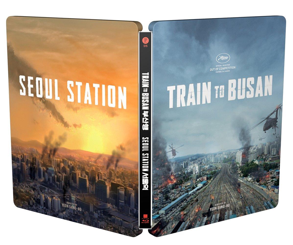 新感染 ファイナル・エクスプレス 韓国 スチールブック Train to Busan / Seoul Station Plain Archive korea steelbook