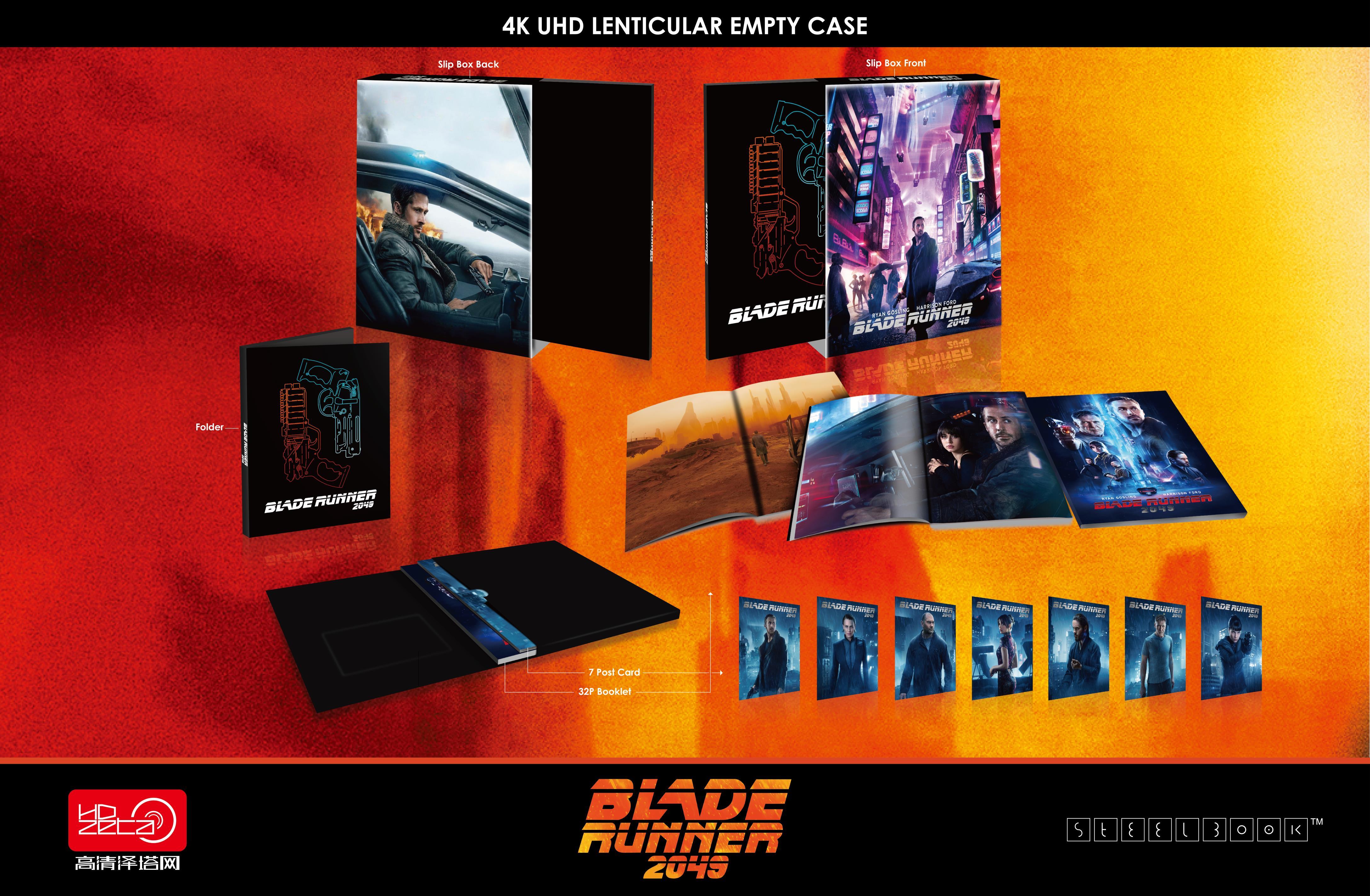 ブレードランナー2049 スチールブック Blade Runner 2049 HDZeta steelbook