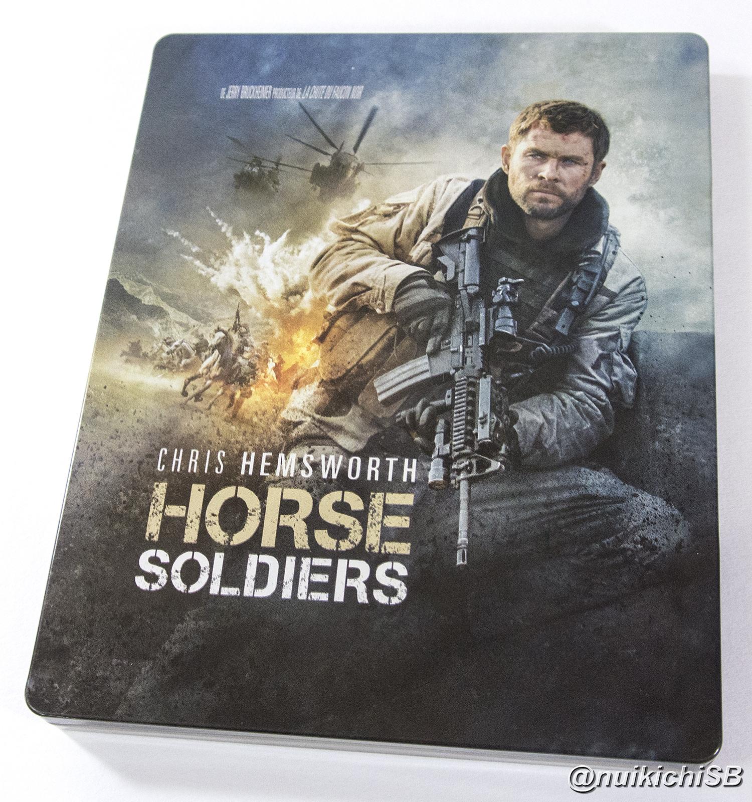 ホース・ソルジャー フランス スチールブック Horse Soldiers 12 Strong France steelbook