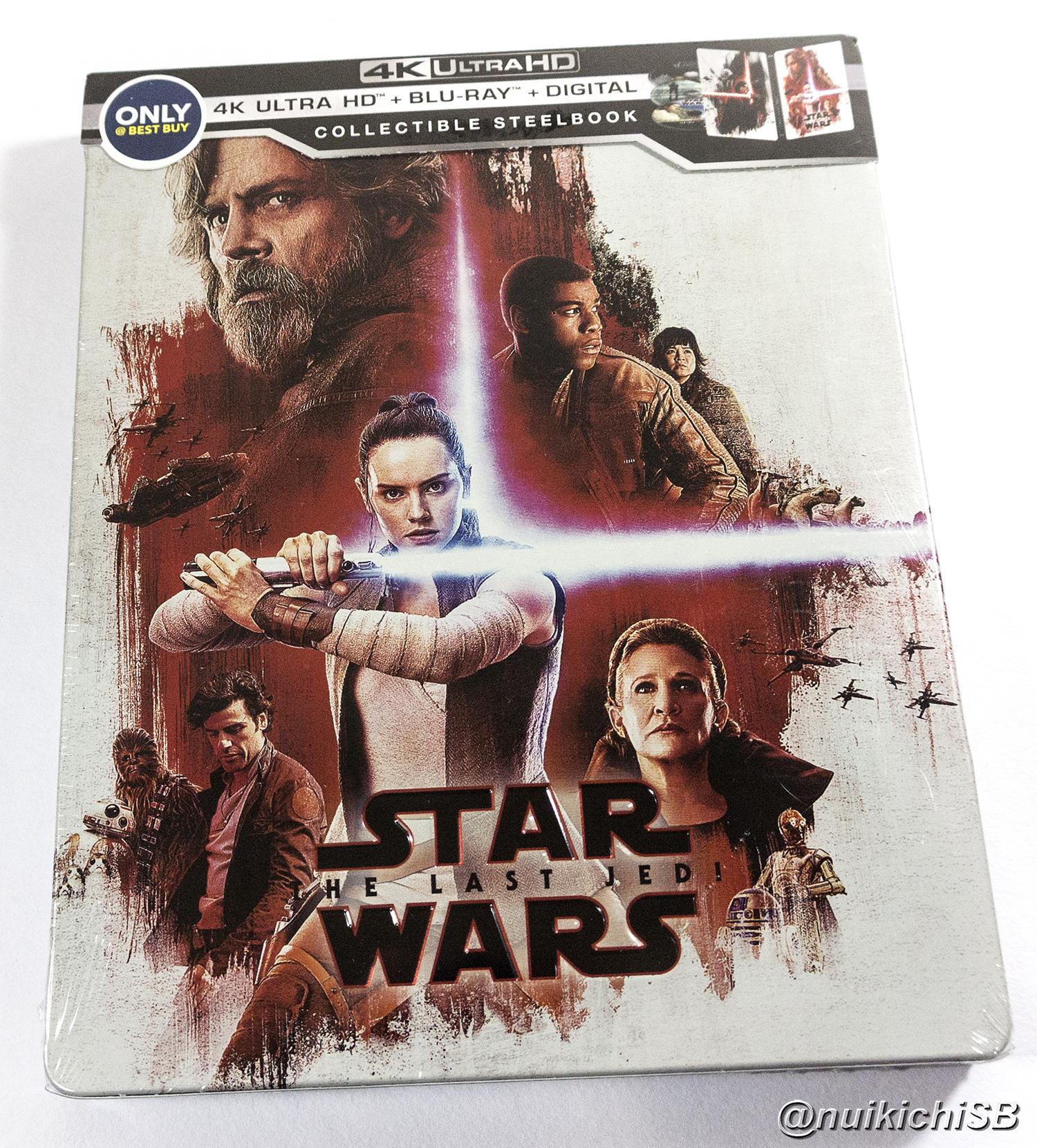 920cc1e04d スター・ウォーズ/最後のジェダイ BEST BUY スチールブック Star Wars: The Last