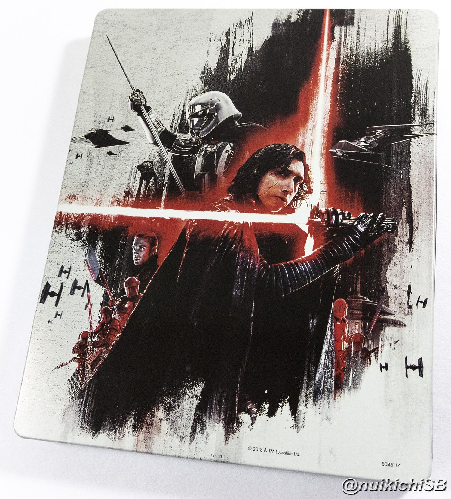 スター・ウォーズ/最後のジェダイ BEST BUY スチールブック Star Wars: The Last Jedi usa steelbook