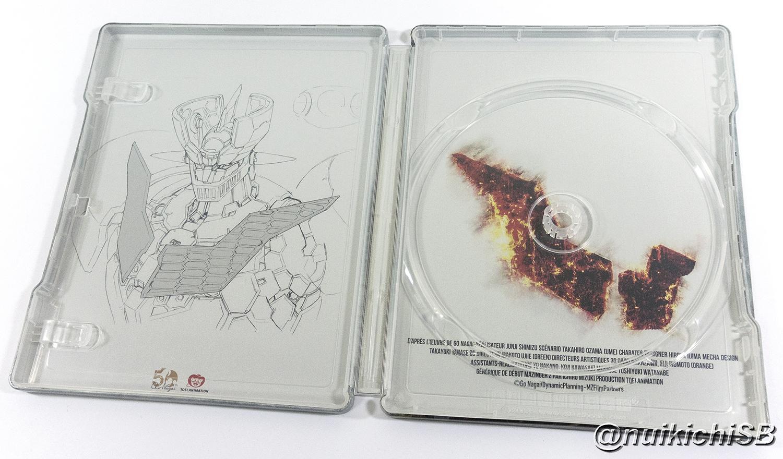 劇場版 マジンガーZ INFINITY フランス スチールブック Mazinger Z Infinity France steelbook