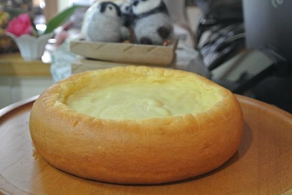 炊飯器でチーズケーキ4-4