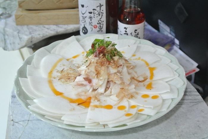 かぶのサラダ1