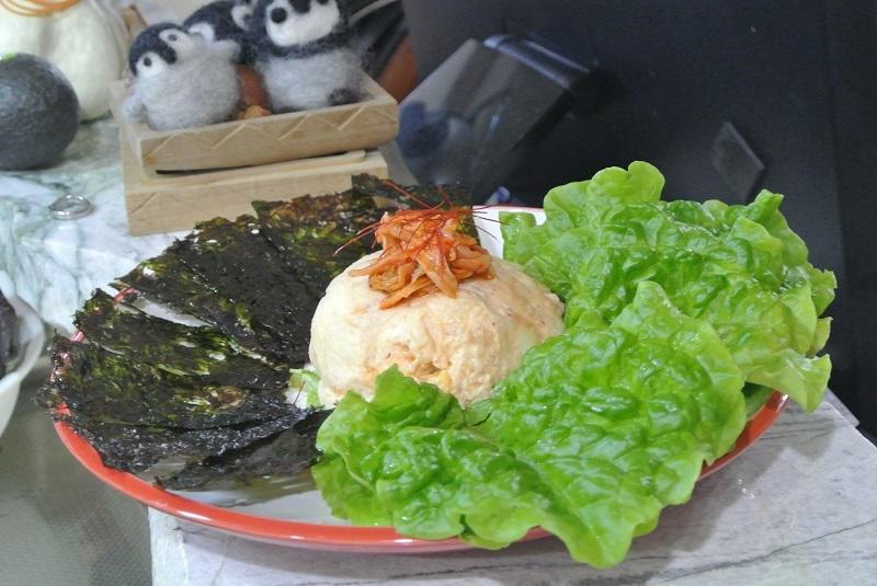 キムチのポテトサラダ2