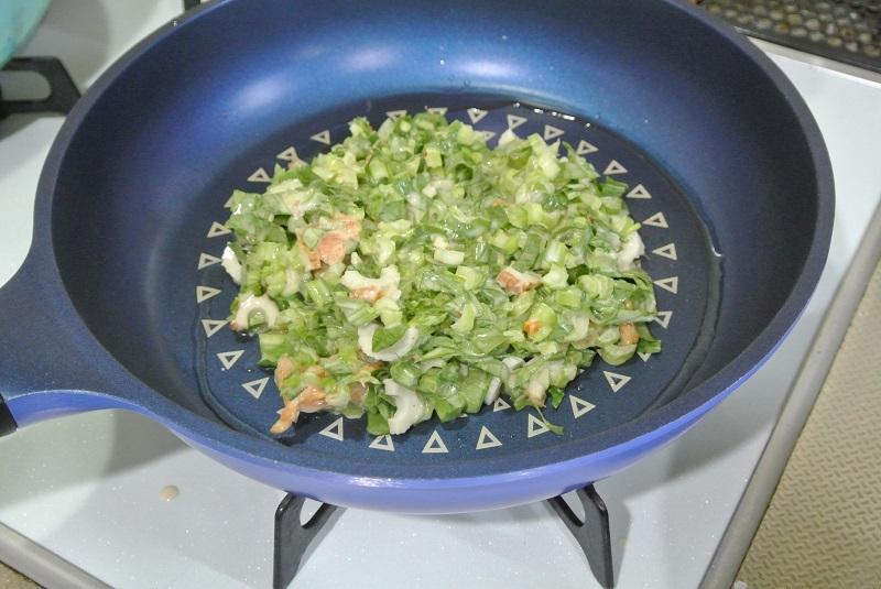 小松菜のチジミ4