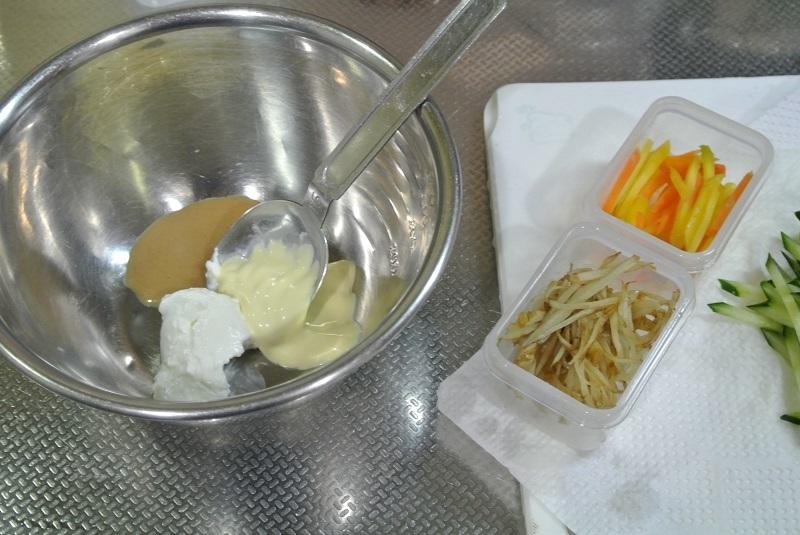 ごぼうサラダ1-1