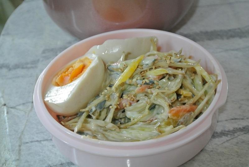 ごぼうサラダ1-3