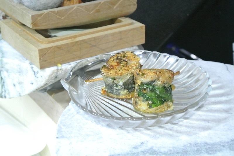 いわしの大葉焼き梅肉風味1-2